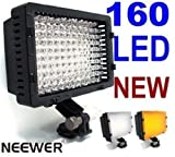 518HayhixKL. SL160  NEEWER® 160 LED CN 160 Dimmable Ultra High Power Panel Digital Camera Camcorder