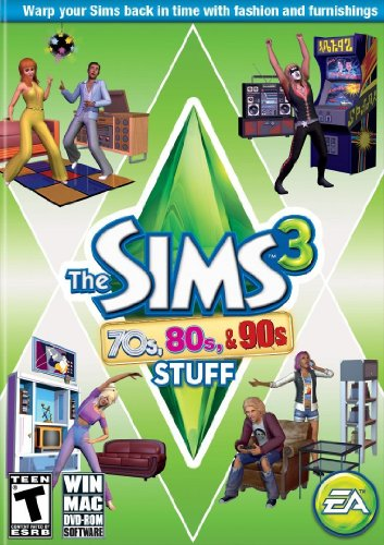 The Sims 3 70's, 80's and 90's Stuff (Sims 3 Clothes compare prices)