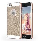 iPhone 6s ケース iPhone 6 ケース Imikoko iPhone 6sきらきら ケース ハードPC パンバー iPhone 6きらきら ケース iPhone 6s 薄型ケース bling-bling アイホン 6 6s カバー SHINEケース おしゃれ 4.7インチ (Gold)