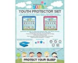 DONCO KIDS Twin Youth Mattress Protector Set, Blue