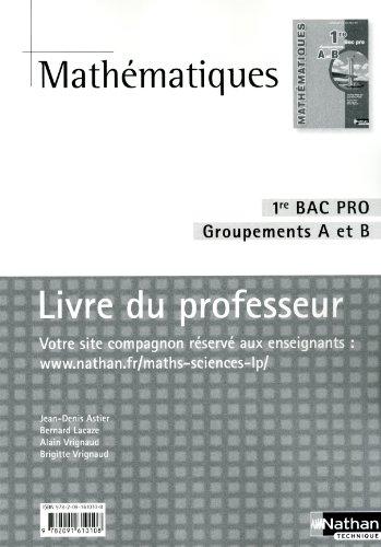 Mathematiques tle bac pro groupement c programme 2011 - Programme bac pro cuisine ...