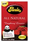 Panda Raspberry Licorice 7oz licorice pieces by Panda