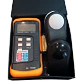 Dr.Meter Digital Illuminance/Light Meter LX1330B , 0 - 200,000 Lux Luxmeter