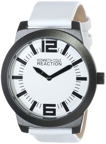 Kenneth Cole REACTION Unisex RK1285 Street Collection White Dial Watch kenneth cole reaction unisex rk1285 street collection white dial watch