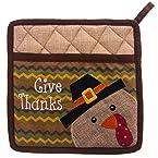 Give Thanks Potholder