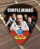 Simple Minds Premium Guitar Pick x 5