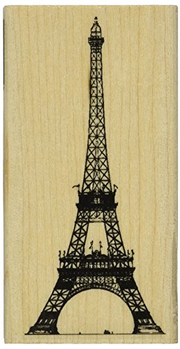 """Hero Arts Eiffel Tower Mounted Rubber Stamp, 2"""" by 4"""""""