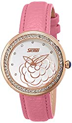 Skmei Analog Multi-Colour Dial Womens Watch - 9087PG