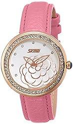 Skmei Analog Multi-Colour Dial Womens Watch - 9087PG
