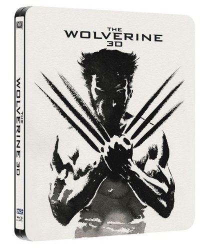 The Wolverine - Limited Edition Steelbook [Blu-ray 3D + Blu-ray] [Region Free]