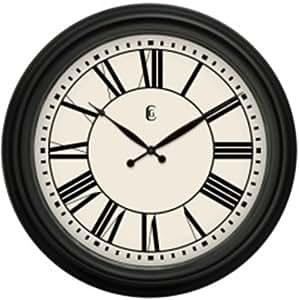 Geneva Clock Plastic Wall Clock 24 Inch Home Kitchen