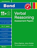 Bond Verbal Reasoning Assessment Papers 10-11+ years Book 2