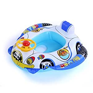 Inflatable pool swim ring with seat 3 5 yr - Amazon inflatable swimming pool toys ...