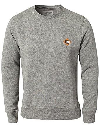 Jack & Jones - Runner Sweat NOOS - Homme Gris Mélangé Taille XX-Large 65 % polyester et 35 % coton.