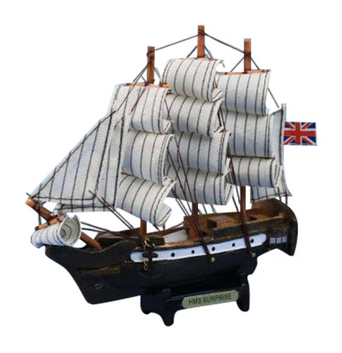 "Hampton Nautical  HMS Surprise Tall Warship, 7"""