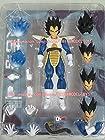 Da Tong Dragon Ball Z Kai Saiyan SHF S.h. Figuarts Vegeta Scouter Action Figure Kit
