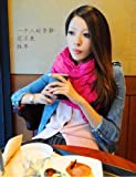 Shop4Clothing365(TM) New Fashion Solid Color Shawl Scarf Wrap for Women (Rose Red)