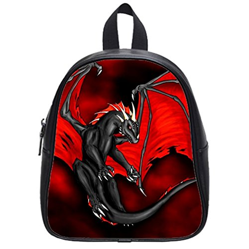 Evil Black Dragon & Red Wings Backpack