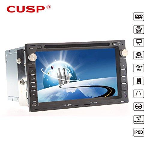 "Ouku Cusp? 7"" 2 Din Tft Car Dvd Player For 2001-2011 Vw Passat With Bluetooth,Gps,Ipod,Rds,Atv"