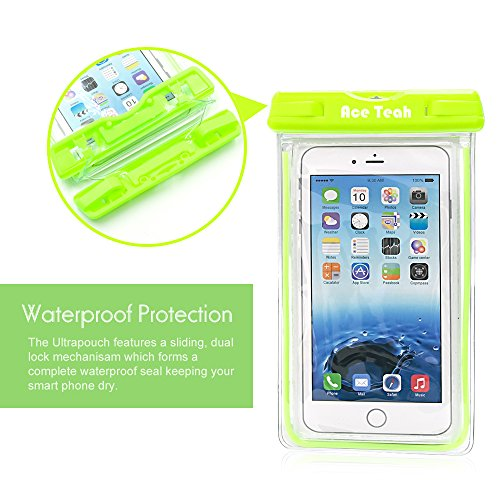 Waterproof Case, 2 Pack Ace