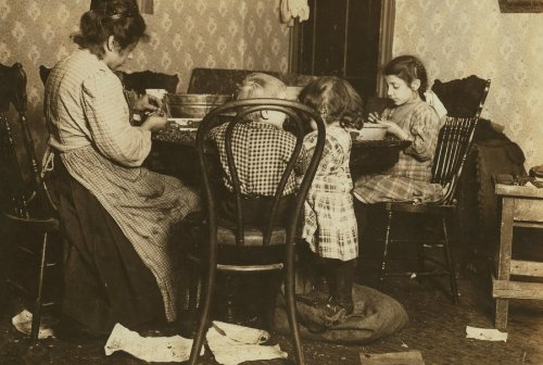 1911 child labor photo Deal in nuts only. Import them. Nuts are cracked and picked in the factory--a