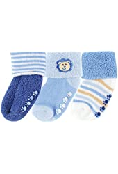 Luvable Friends 3 Pack Beary Cute Non-Skid