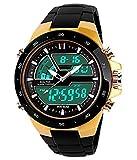 Felizer Dual Time S-Shock Golden Watch