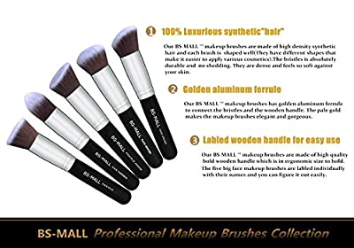 Best Cheap Deal for BS-MALL(TM) Makeup Brushes Premium 14 Pcs Synthetic Foundation Powder Concealers Eye Shadows Silver Black Makeup Brush Sets(Silver Black) by BS-MALL - Free 2 Day Shipping Available