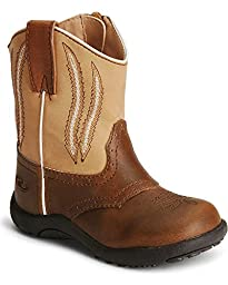 Roper Infant-Boys\' Chunklet Cowboy Boot Brown 3 US