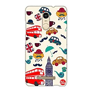 Designer Xiaomi Redmi Note 3 Case Cover Nutcase -Simply London !
