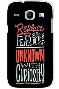 IndiaRangDe Hard Back Cover FOR Samsung Galaxy Core I8260