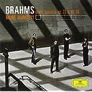 Faure Quartett: Brahms Klavierquartett 1 Op. 25 & Op. 3