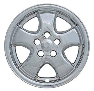 "Bully Imposter IMP-313X, Ford, 16"" Silver Replica Wheel Cover, (Set of 4)"
