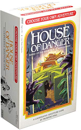 Choose Your Own Adventure: House of Danger (Color: Multicolor)