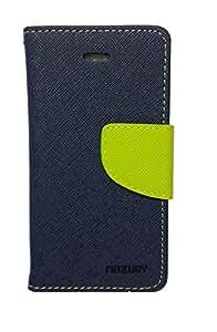 Bagsfull Mercury Flip Cover Case For Sony Xperia Z3 Dark Blue Green