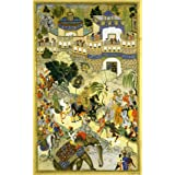 Akbar Entry into Surat, by Farrukh Beg (V&A Custom Print)