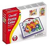 Toy - Quercetti 0922 - Mosaik-Steckspiel FantaColor inklusiv 150 Stecker, 10 mm, farbig sortiert