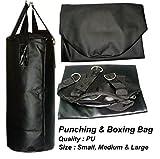 Tenstar Black Punching / Boxing Bag Small (24 Inch)