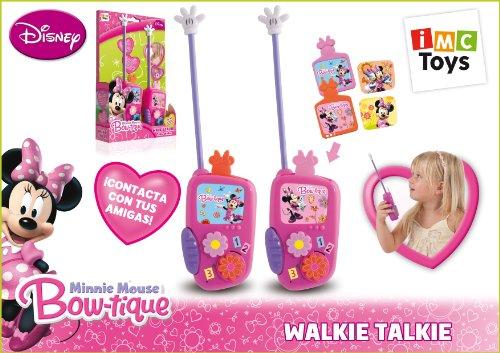 IMC TOYS 704074 - Minnie Walkie Talkie