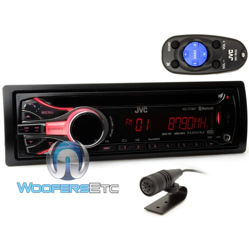Jvc Kds79Bt Usb/Cd Receiver With Bluetooth, Dual Usb Ports And Iphone/Ipod Control