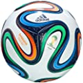 adidas Fu�ball Brazuca Top Replique, Wei�/Multicolor, 5, G73622
