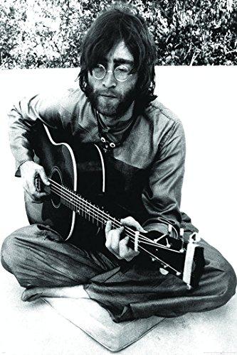 HUGE John Lennon Guitar maxi PAPER poster Measures 91.5 x 61 cm
