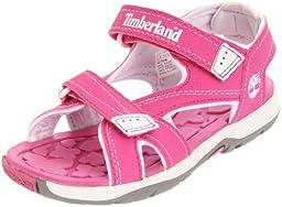 Timberland Mad River 2-Strap Sandal (Toddler/Little Kid/Big Kid),Pink/Rose,4 M US Toddler