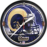 St Louis Rams - Helmet Clock