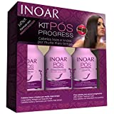 Inoar Pos Progress Home Care Brazilian Keratin After Care Kit - 8.4 oz - 250 ml