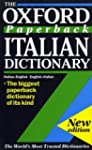 The Oxford Paperback Italian Dictiona...