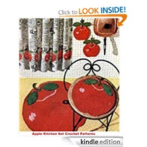 Amazon.com: Apple Kitchen Set Crochet Pattern - Crochet an Apple ...