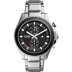 Fossil Men's CH3000SET Wakefield Analog Display Analog Quartz Silver Watch