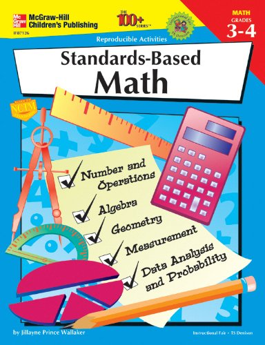 FRANK SCHAFFER PUBLICATIONS STANDARDS-BASED MATH GR. 3-4 100+ - 1