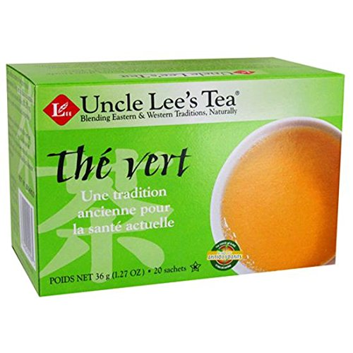 Uncle Lees Tea Green Tea Original - 20 Bags, 3 Pack
